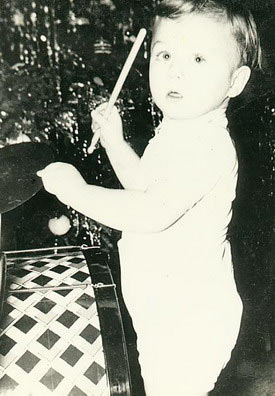 Dick Cully at 8 months